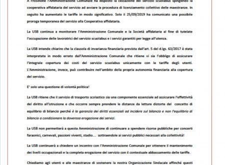 """""""Non comprerò più le scarpe di marca"""". Tagli, ancora tagli nei servizi nel comune di Frosinone."""