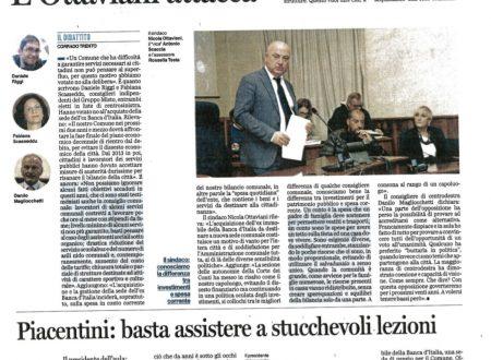 Banca d'Italia: tutti d'accordo. O quasi!