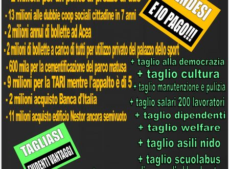 Bancaditalia: rent to buy…. cut the welfare